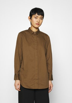 ARTHUR  - Button-down blouse - sienna