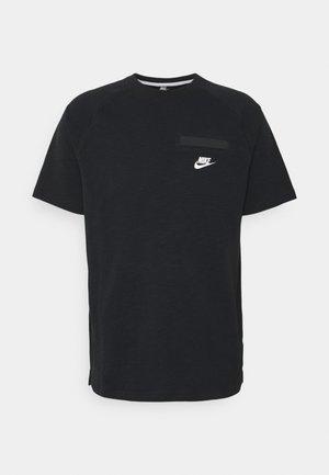 T-shirt basique - black/white