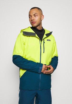 SNOWSHOT  - Hardshell jacket - chartreuse