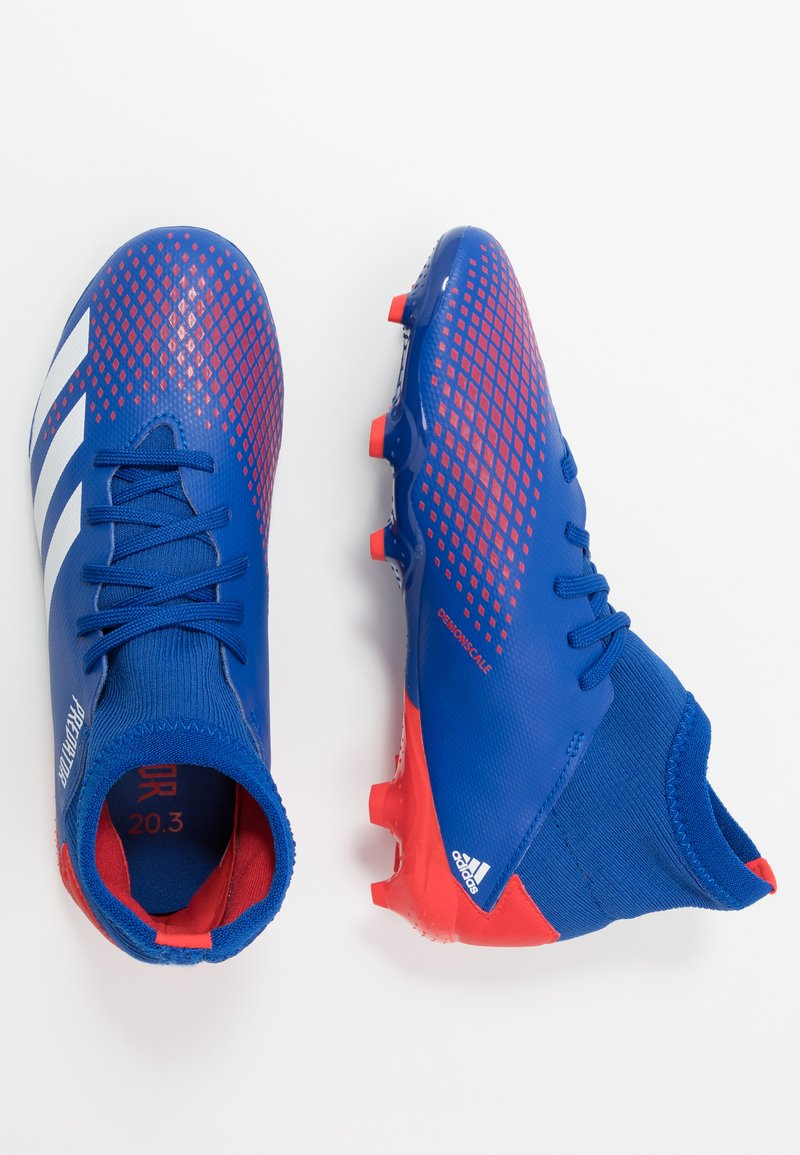 adidas Performance - PREDATOR 20.3 FG - Moulded stud football boots - royal blue/footwear white/active red