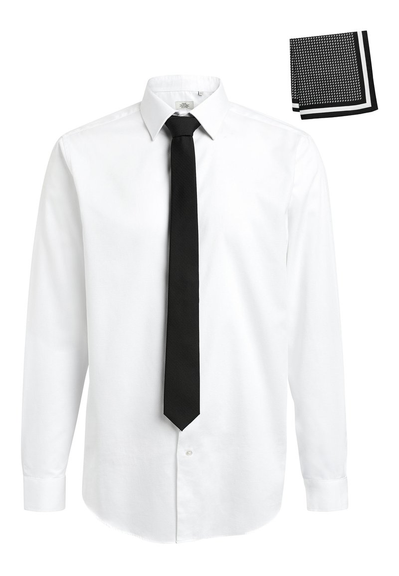 Next - Camicia elegante - white