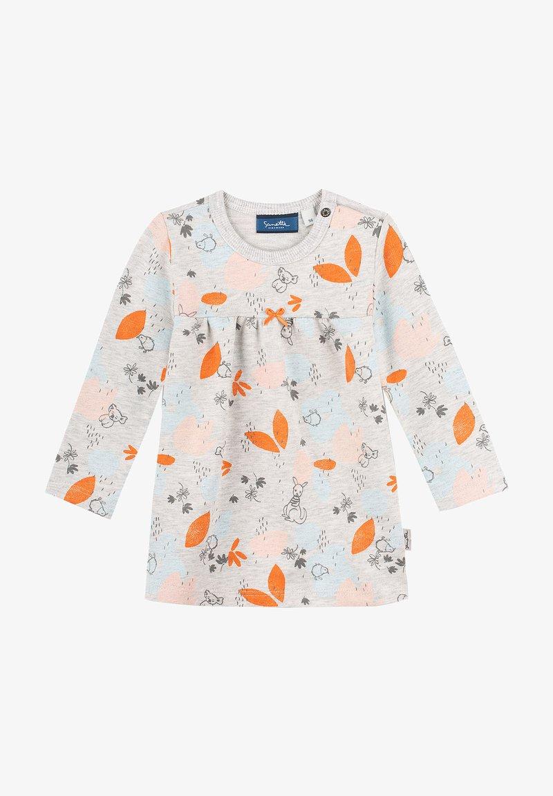 Sanetta Kidswear - Korte jurk - grau