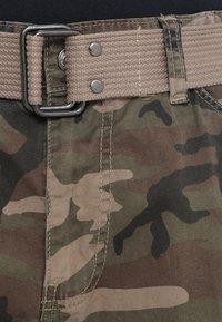 Schott - TRRANGER - Pantaloni cargo - camo khaki - 3
