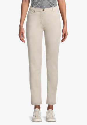 PERFECT BODY - Trousers - beige