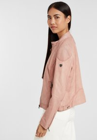 Gipsy - ABBY - Leather jacket - rose - 5