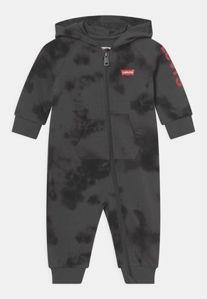 HOODED COVERALL - Jumpsuit - magnet gray