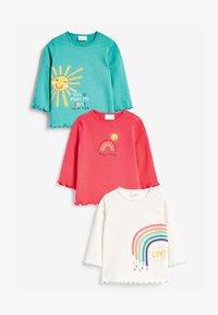 Next - 3 PACK  - Langærmede T-shirts - multi-coloured - 0