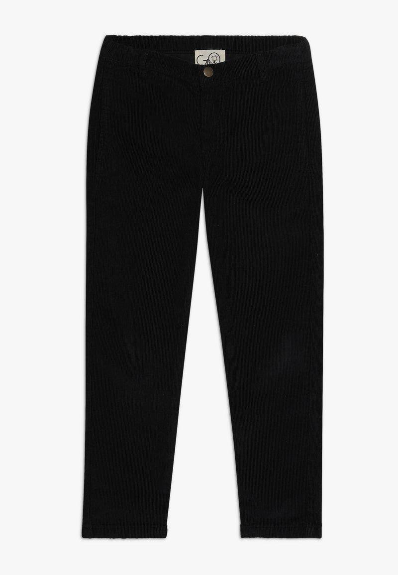 GRO - BRUNO CROPPED PANT - Pantaloni - black