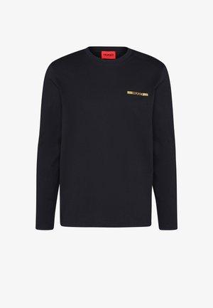DEROL METALLIC UNISEX - Bluzka z długim rękawem - black/gold