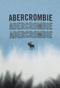 Abercrombie & Fitch - LOGO - Print T-shirt - blue - 2