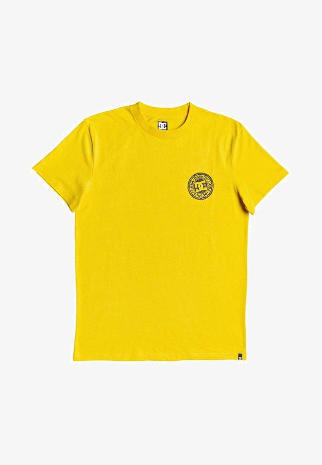 CIRCLE STAR - Camiseta estampada - dandelion/black