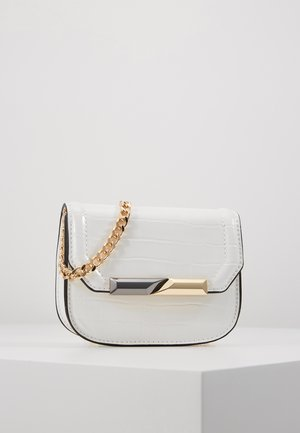 CLEAN MIX MICRO MINI - Torba na ramię - off white
