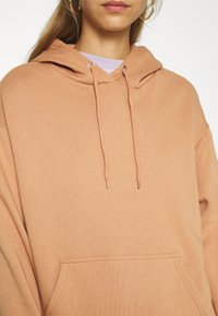 Even&Odd - BASIC - Oversized hoodie with pocket - Hoodie - light tan - 5