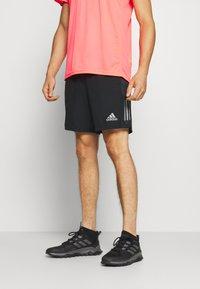 adidas Performance - OWN THE RUN RESPONSE RUNNING - Sportovní kraťasy - black/grey six - 0