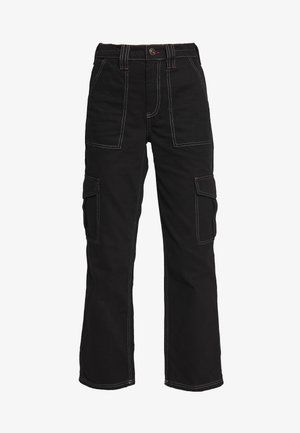 SKATE - Relaxed fit jeans - black dragon