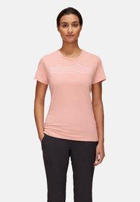 Mammut - SEILE - T-shirt con stampa - evening sand prt3 - 0