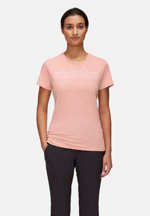 T-shirt con stampa - evening sand prt3