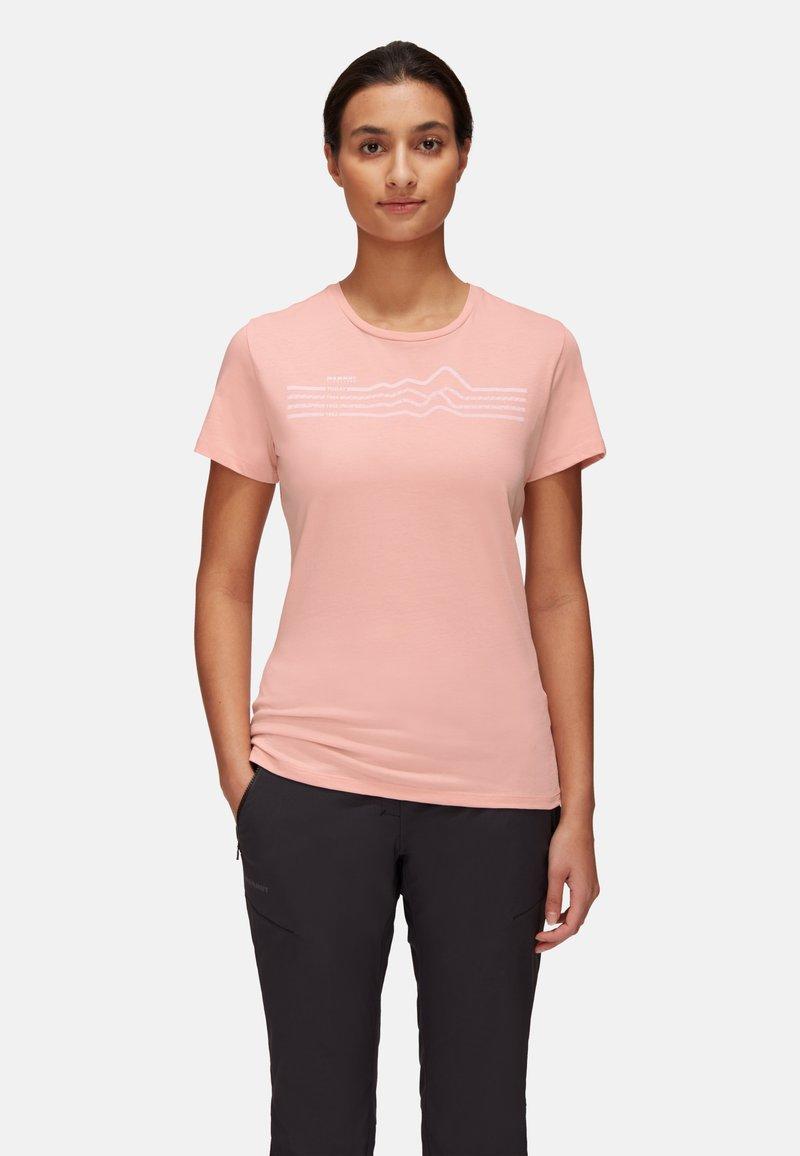 Mammut - SEILE - T-shirt con stampa - evening sand prt3