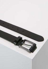 Burton Menswear London - TAB DETAIL - Riem - black - 2