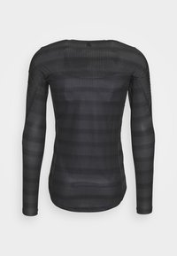 ODLO - CREW NECK ZEROWEIGHT CERAMIWA - Sports shirt - graphite grey/black - 1