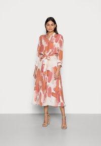 Rich & Royal - SHIRT DRESS PRINTED - Shirt dress - vintage rose - 0