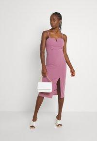 WAL G. - ELIZA MIDI  - Cocktail dress / Party dress - mauve pink - 1