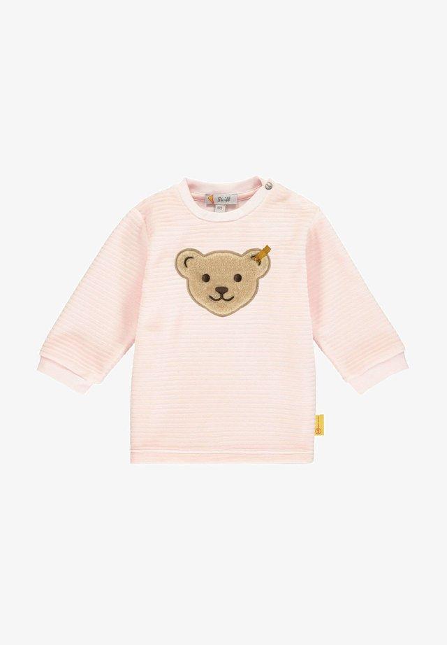 Sweatshirt - barely pink