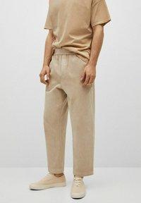 Mango - Trousers - hellgrau/pastellgrau - 0