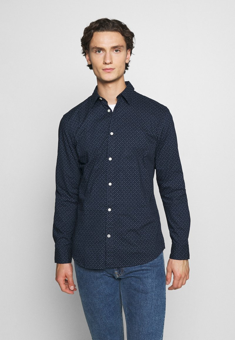 Jack & Jones - JJEPLAIN - Overhemd - navy blazer