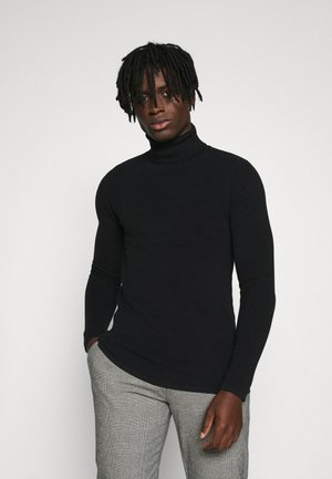 RRBROCK KNIT - Strickpullover - black