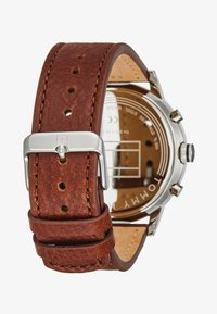 Tommy Hilfiger - CASUAL - Chronograph watch - cognac/silver - 2