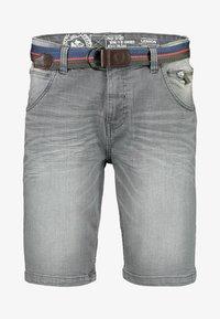 LERROS - Denim shorts - cement grey - 0