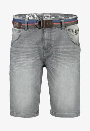 Denim shorts - cement grey