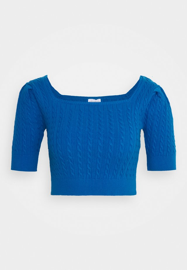 LADIES JUMPER  - Jumper - petrol blue