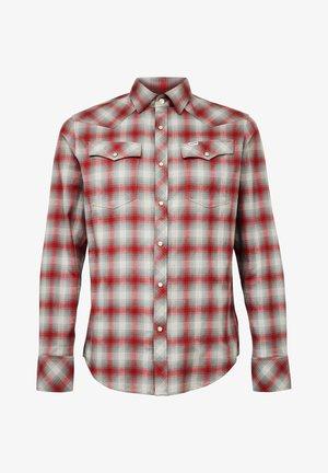 3301 SLIM - Shirt - dry red jack check