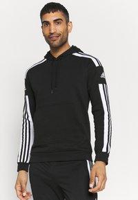 adidas Performance - SQUAD HOOD - Sweatshirt - black - 0