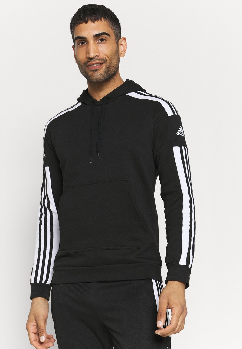 adidas Performance - SQUAD HOOD - Sweatshirt - black