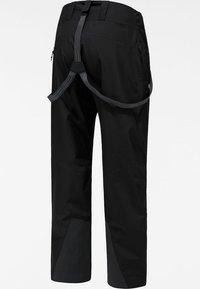 Haglöfs - LUMI LOOSE PANT - Snow pants - true black - 6