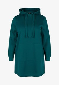 Active by Zizzi - Jersey con capucha - green - 4