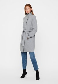 Vero Moda - Short coat - light grey - 1