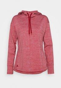 adidas Golf - ESSENTIALS HOODIE - Felpa con cappuccio - light pink - 0