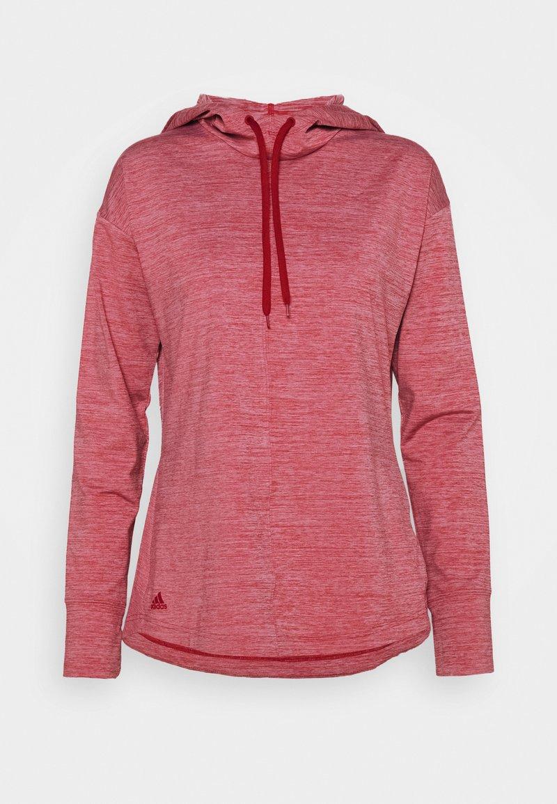 adidas Golf - ESSENTIALS HOODIE - Felpa con cappuccio - light pink
