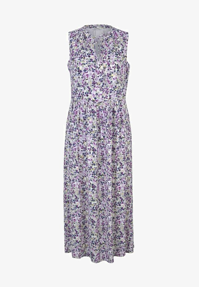 Korte jurk - offwhite floral design