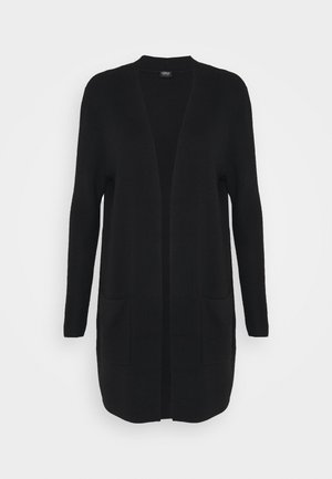 LANGARM - Strikjakke /Cardigans - true black
