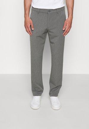 COMO REG SUIT PANTS - Oblekové kalhoty - grey melange