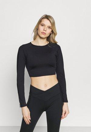LONGSLEEVE - T-shirt à manches longues - black