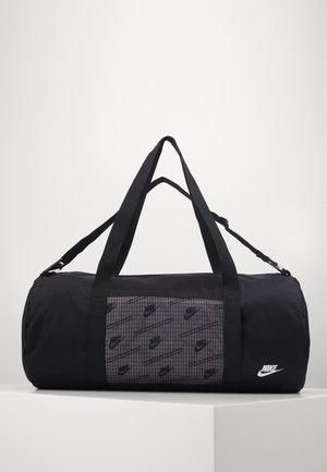 HERITAGE DUFFLE  - Sports bag - black/black/white