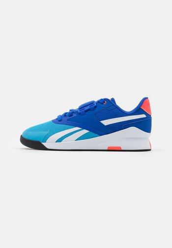 LIFTER PR II - Sports shoes - radiate aqua/court blue/footwear white