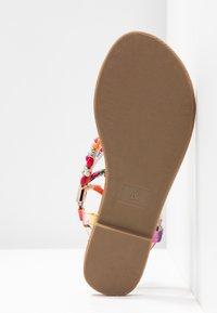 Buffalo - ELISSE - T-bar sandals - multicolor - 6