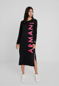 Armani Exchange - Jersey dress - black - 1